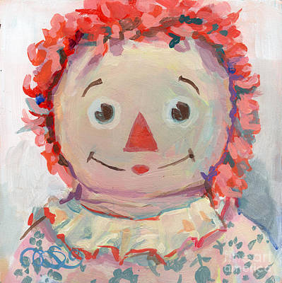 Faded Painting - Tiny Anne II by Kimberly Santini