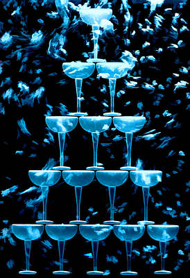 Glassware Photograph - Tiny Bubbles by Marcia Colelli