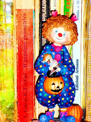 Donatella Mixed Media - Tiny Clown by Donatella Muggianu