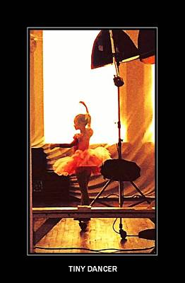 Digital Art - Tiny Dancer by Carrie OBrien Sibley