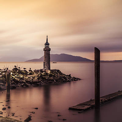 Photograph - Tiny Lighthouse by Tony Locke