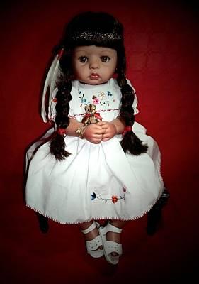 Candy Candy Doll Photograph - Tiny Moonbeam   by Donatella Muggianu