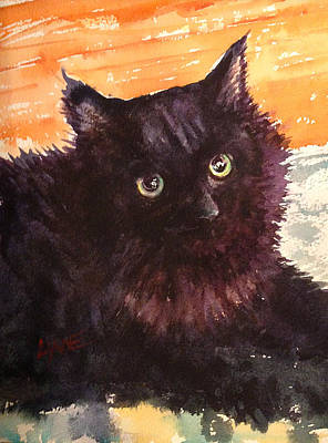 Painting - Tinybaby Cat by Lynne Haines