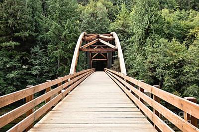 Tioga Bridge Art Print