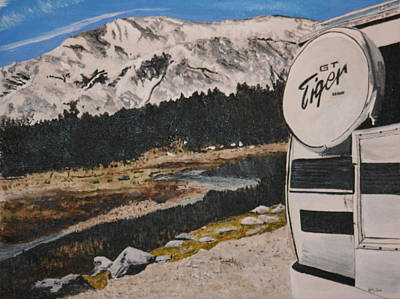 Painting - Tioga Pass by Betty-Anne McDonald