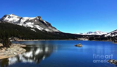 Photograph - Tioga Pass Mountain Lake by Phillip Garcia