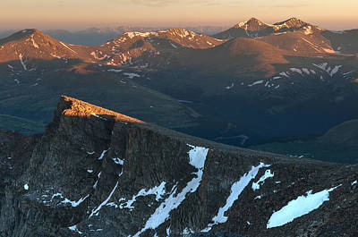 Torreys Peak Photograph - Tip Of The Tooth by Mike Berenson