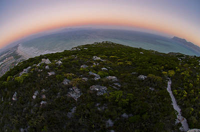 Cape Town Photograph - Tip Of The World by Aaron Bedell