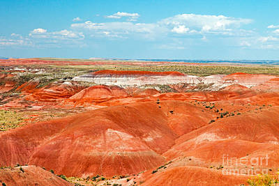 Photograph - Tiponi Point Painted Desert Petrified Forest National Park by Fred Stearns