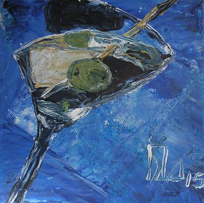 Painting - Tipsy Tini by Lee Stockwell