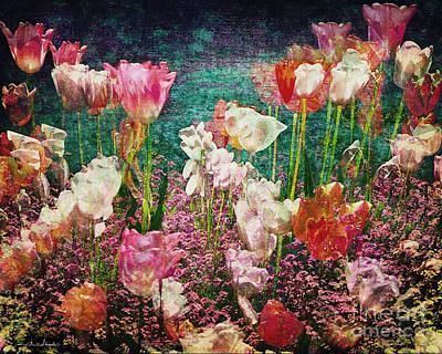 Photograph - Tiptoe Through The Tulips 01 by Edmund Nagele