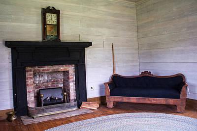 Oil Lamp Photograph - Tipton Hayes Home Interior 16 by Douglas Barnett