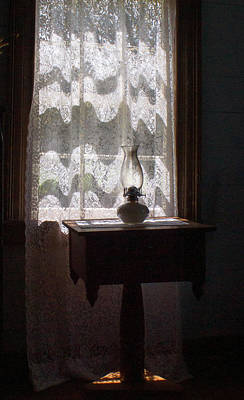 Oil Lamp Photograph - Tipton Hayes Home Interior by Douglas Barnett