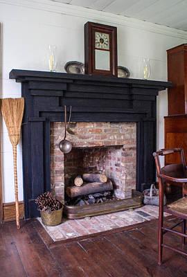 Oil Lamp Photograph - Tipton Hayes Home Interor 10 by Douglas Barnett
