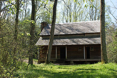 Tipton Place In Cades Cove Art Print by Roger Potts