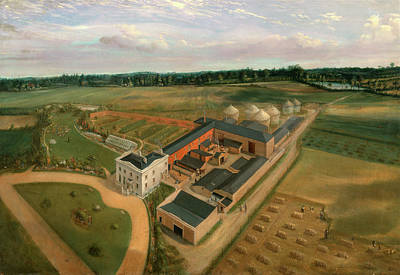 Shock Painting - Tiptree Hall And Farm, Essex, William Brown by Litz Collection