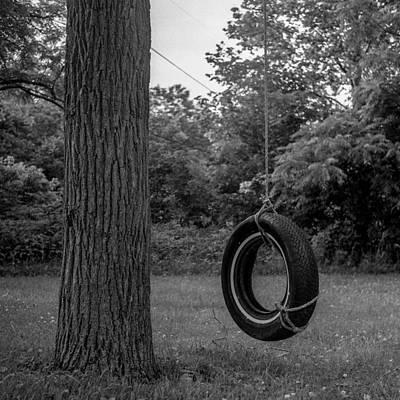 Tire Swing Art Print by Alex Snay