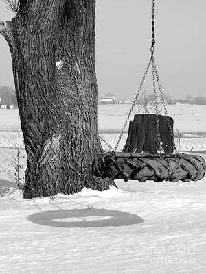 Photograph - Tire Swing by David Bearden
