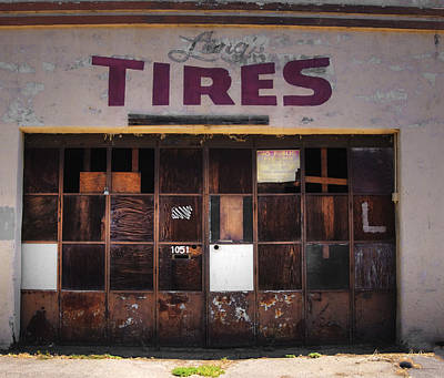 Photograph - Tires Out by Kandy Hurley
