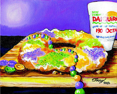 Painting - Tis Da Season Mista by Terry J Marks Sr