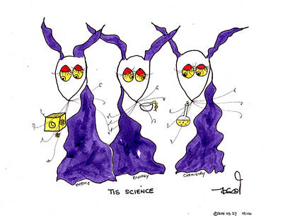 Painting - Tis Science by Tis Art