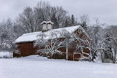 Photograph - Tis The Season - A New England Scenic by Expressive Landscapes Fine Art Photography by Thom