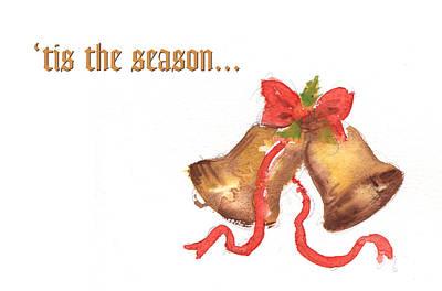 Christmas Painting - 'tis The Season... by Walter Lynn Mosley