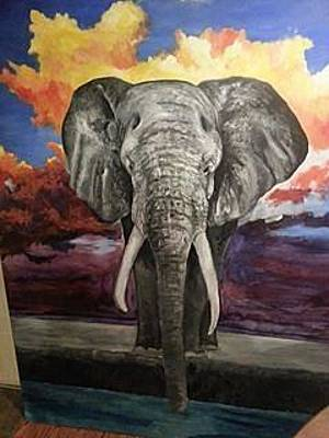 Painting - Titan by Marisa Salazar