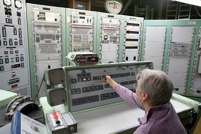 Destruction Photograph - Titan Missile Control Room by Jim West