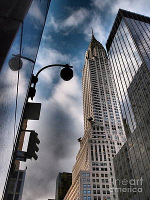 Photograph - Titan Of 42nd Street - The Majestic Chrysler Building by Miriam Danar