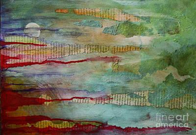 Mixed Media - Titan Rising by Sandra Taylor-Hedges