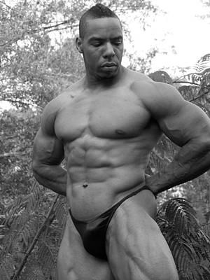 Titan The Art Of Muscle Art Print