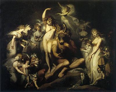 Digital Art - Titania And Bottom 1790 by Henry Fuseli