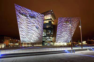 County Antrim Photograph - Titanic Belfast, Belfast, County by Panoramic Images