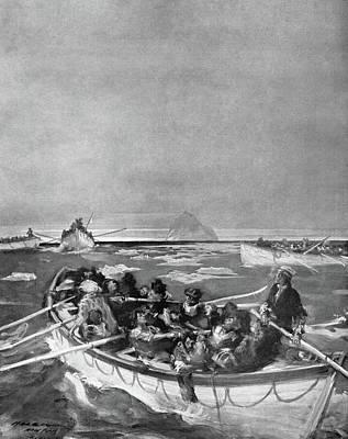 Titanic Lifeboat, 1912 Art Print by Granger