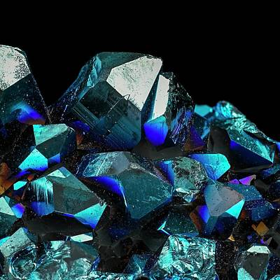 Titanium Photograph - Titanium Quartz by Science Photo Library