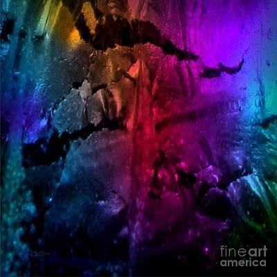 Painting - Titanium Quartz by Tlynn Brentnall