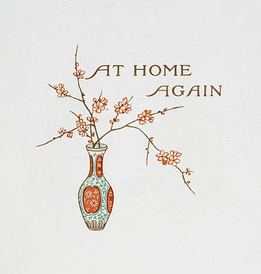 Title And A Vase Art Print