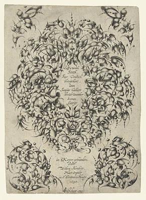 Title Journal Looff-werck Boeck Seer Constich Geteijckent Art Print