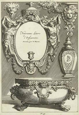 Title Journal Nouveaux Liure Dorfeureire Art Print