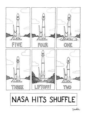 Random Drawing - Nasa Hits Shuffle by Charlie Hankin