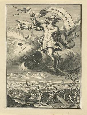 Orator Drawing - Title Page Of Mercury Or Orator, Coenraad De Putter by Artokoloro