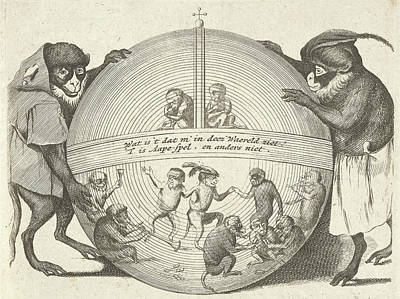 Title Print Of A Series Of Six Prints In Which Various Art Print