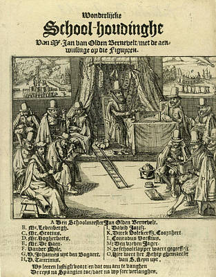 Title Print Of The Pamphlet In 1618 Art Print by Litz Collection