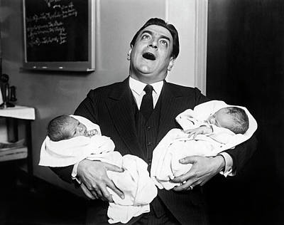 Photograph - Tito Schipa Sings For Babies by Underwood Archives
