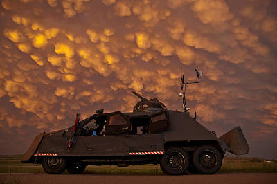 Photograph - Tiv2 And Mammatus  by Brandon  Ivey