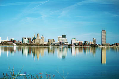 I Love America Digital Art - Twin City? by Gary Campbell