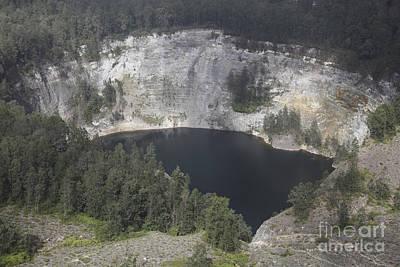 Photograph - Tiwu Ata Mbupu Crater Lake Of Kelimutu by Richard Roscoe