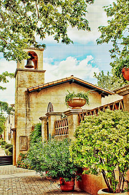Photograph - Tlaquepaque In Sedona - Reworked by Fred Larson