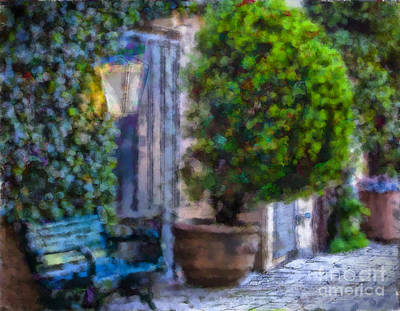 Photograph - Tlaquepaque Rest Stop by Georgianne Giese